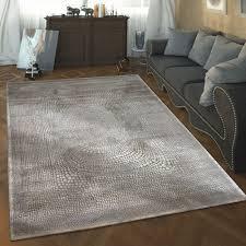 wohnzimmer teppich 3 d design gepunktet modern