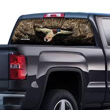 100 Truck Window Decal Realtree Max 5 Camo Film Camo Accessories