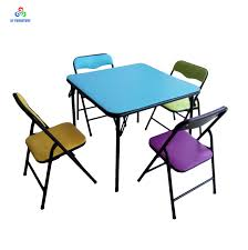 100 Folding Table And Chairs For Kids Quality Metal Children Furniture Kids Folding Kids Study Table And