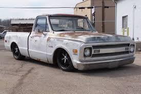 100 69 Chevrolet Truck C10 Loving The Aged Paint Badass Old Trucks Pickup Trucks