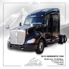 100 Lone Mountain Truck 2015 Kenworth T680 Cummins ISX 425HP