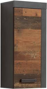 trendteam smart living badezimmer hängeschrank wandschrank indy 36 x 79 x 23 cm in front wood korpus und absetzung matera mit viel stauraum
