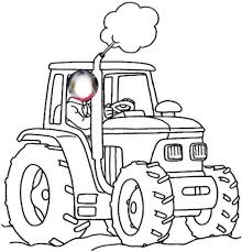Beau Dessin Coloriage De Tracteur Mademoiselleosakicom