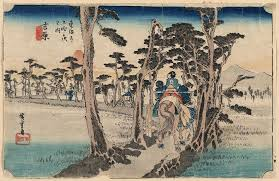 Yoshiwara 15 From The Hoeido Takaido Series By Ando Hiroshige Click For