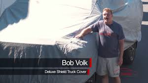 CarCovers.com - Deluxe Shield Truck Cover - Outdoor Full Body ... Bench Seat Truck Car Covers Velcromag Chevy Fantastic Best Dog Reviews Camaro 5 Layer Ultra Shield Car Cover Review Youtube Crew Cab Pickup Rugged Fit Custom For Ford F150 For Trucks Masque Covercraft Chartt Work Cover Gray Twill Auto Sedan Van Universal 12 Military Vehicle Coverking Stormproof
