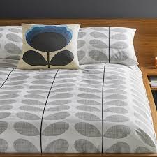 Buy Orla Kiely Scribble Stem Duvet Cover Light Concrete