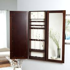Decoration Espresso Jewelry Armoire Mirror With Lock View In ... Wall Mount Jewelry Armoire Kohls Home Decators Collection Oxford Storage Behind Door Storage Cabinet With Full Length Mirror Awesome Of Plaza Astoria Over The Cool Acme Fniture Otis Plus Mirrotek Caymancode Amazoncom Mounted Haing Closet Best 25 Jewelry Armoire Ideas On Pinterest Interior Door Faedaworkscom Ideas Songmics Lockable With Frameless Mirror Large Bathroom Belham Living Looking Window Hayneedle Modern Solid Oak Shaker Cheval Cc White