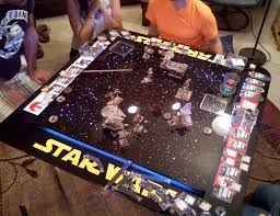 Gaming Table In Use