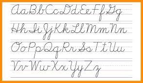write capital cursive letters – paperstreetpress
