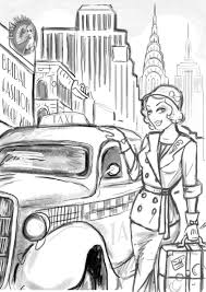 Free Printable Coloring New York City Pages 25 With Additional Books