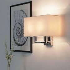 wall lights moderne wandleuchte mit stoffschirm für wohnzimmer esszimmer wandle leuchte home furniture diy itkart org