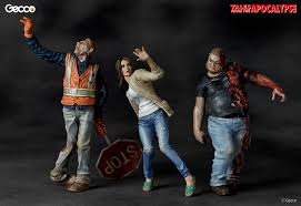 100 Plastic Truck Model Kits Zombie Tales From The Apocalypse Scene 1 By