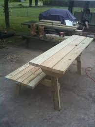 combo bench table by randy sharp lumberjocks com woodworking