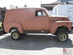 4X4 Rust Free Chevy Panel Truck Very Cool Project Gmc Rat Rod