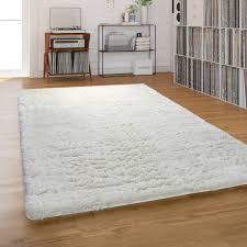 hochflor teppich shaggy waschbar für wohnzimmer und schlafzimmer beige creme