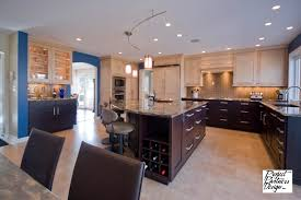 kitchen cabinets on bottom light top kitchen cabinet design