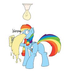 299938 animated clothes lightbulb rainbow dash safe scarf