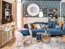 blue velvet so königlich war ihr wohnzimmer noch nie