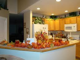 Kitchen Appealing Fall Decor Ideas With Countertop