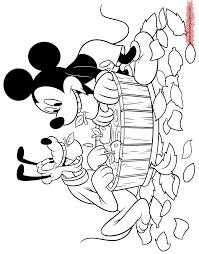 Mickey Pluto Apple Bobbing