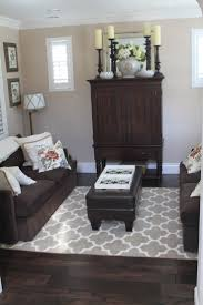 Colors For A Dark Living Room by Best 25 Dark Brown Furniture Ideas On Pinterest Bedroom Paint