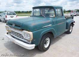 1960 Ford F100 Pickup Truck | Item BI9539 | SOLD! June 13 Ve... 1957 Ford F100 Pickup Truck Hot Rod Network 1963 Red Joels Old Car Pictures 1956 That Looks Like A Rundown But Isn 135225 Rk Motors Classic Cars For Sale 19cct07o1956fordf100truckdriverside Promofile Works Rides 6971 Why Vintage Pickup Trucks Are The Hottest New Luxury Item Beautiful Black 50s Mustang Classic Cars Pinterest 1976 Vaquero Show Trend History 1955 Street Sold Hemmings Find Of Day 1958 Panel Van Daily 1966 Volo Auto Museum