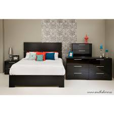South Shore 6 Drawer Dresser Assembly by South Shore Mikka 5 Drawer Black Oak Chest 3541035 The Home Depot