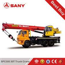 Sany Spc300 30 Tons Truck-mounted Crane Of Hydraulic Crane ...
