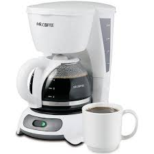 Mr Coffee Simple Brew 4 Cup Switch Maker White TF4 Series