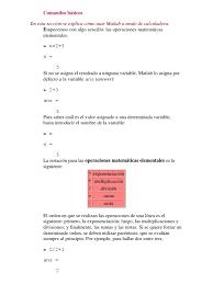 Matlab Ceil To Nearest 10 by Comandos Básicos De Matlab