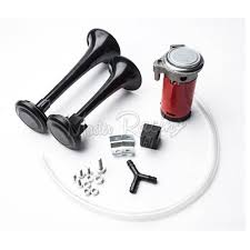 Buy Motorcycle Dual Trumpet Air Horn 12v 135db Loud Motorbike Air ... Voluker 4 Trumpet Train Air Horn Kit150db Loud Compressor Amazoncom Iglobalbuy Super 12v Dual 150db Truck Mega Single Kit W Dc 12v Emergency Fire Ftkit Horns Of Texas Mirkoo Twin Tone Chrome Plated Air Horn Kit Diesel Pinterest Trucks Chevy Car Boat 117 Wolo Mfg Corp Air Horns Horn Accsories Comprresors Pcwizecom Truhacks Triple Boss Suspension Shop Kits Model Hk2 Kleinn Mpc M1 Review Best Unbiased Reviews