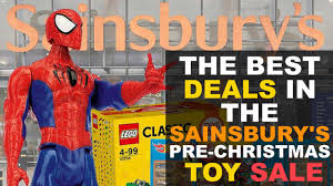 the best deals in sainsbury s pre sale