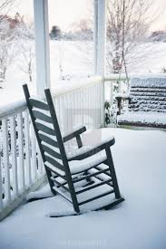 Snow Covered Rocking Chair And Porch Swing On Front Porch ... Antique Wood Outdoor Rocking Log Chair Wooden Porch Rustic Rocker Stackable Sling Red At Home Free Picture Rocking Chairs Front Porch Heavy Duty Big Accent Patio Xl Lawn Chairs Oversize Fniture For Adult Two Rocks On Front Wooden On Revamp With Grandin Road Decor Hampton Bay White Chair1200w The Plans Woodarchivist Days End Flat Seat Teak Relaxing Slat Green Rockin In Nola Paper Print