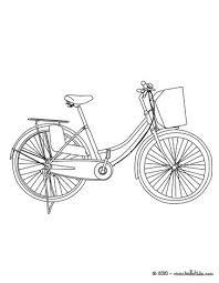 Dutch Bike Bicycle Coloring Page