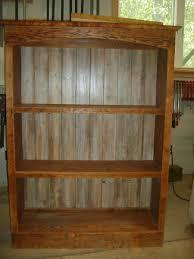 Reclaimed Wood Bookshelf Farm Table Furniture Home Bookcase Rare Image
