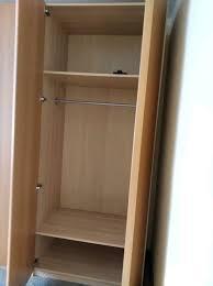 ikea schlafzimmer schrank pax midsund 100x236cm holz