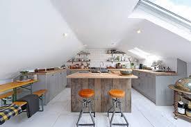 Attic Kitchen Ideas 3 Inspirational Solid Wood Attic Kitchens Solid Wood