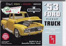 1/25 AMT 882 - 1953 Ford Pickup, 3 In 1. Plastic Model Kit - $25.95 ... Then And Now Automotive 481956 Ford Truck Parts Accsories Diecast Toy Pickup Scale Models Steering Online Catalog Page 58 1935 Review Amazing Pictures Images Look At The Car And Arizona Dennis Carpenter Ford Restoration Parts 195355 F1600 Truck 56 Ford For Sale Ozdereinfo 1955 F100 Street Rod Truck Lmc Dodgelmc Dodge 2018 Reviews 118 Road Legends Diecast 1953 Pick Up Lt Tan Wflathead