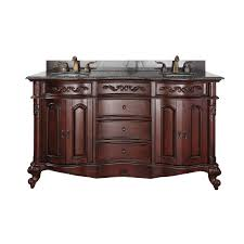 Bathroom Vanities 60 Inches Double Sink by Traditional Double Sink Vanities With Tops On Sale Plus Free Shipping