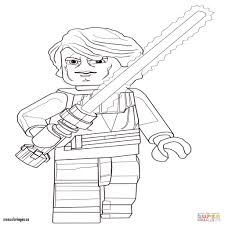 Luxury Lego Star Wars Anakin Skywalker Coloring Page Mescoloriages