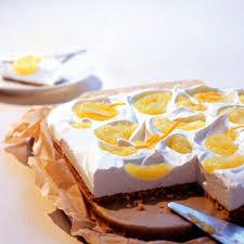apfel pudding biskuit kuchen rezept essen und trinken