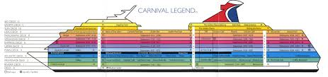 Carnival Splendor Panorama Deck Plan by Carnival Freedom Deck Plans Radnor Decoration