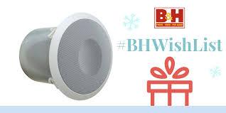 bogen communications ocs1 orbit ceiling speaker off white ocs1