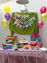 Decorate Table For Birthday Party Decoration Home