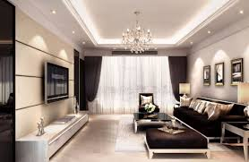 cool modern living room lighting with interior decoration living
