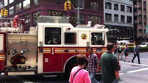 100 Fire Trucks On Youtube Mighty Machines New York City YouTube