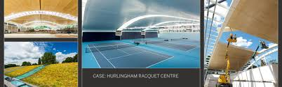 100 Bowstring Roof Truss Hurlingham Racquet Centres Light Green Roof Features Kerto