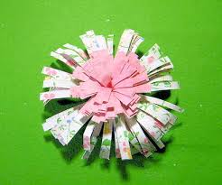How To Make Paper Fringe Flower