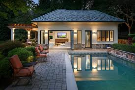 100 Modern Pool House Custom Homes Our Designs
