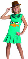 Phineas And Ferb Halloween by Amazon Com Phineas And Ferb Sassy Agent P Girls Costume Small